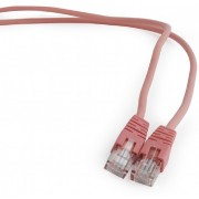 """1 m, Patch Cord  Pink, PP12-1M/RO, Cat.5E, Cablexpert, molded strain relief 50u"""" plugs -     https://gembird.nl/item.aspx?id=7786"""