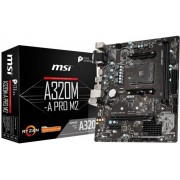 Материнская плата MSI A320M-A PRO M2, Socket AM4, AMD A320, mATX