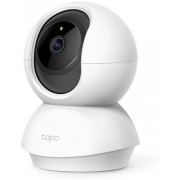 TP-LINK Tapo C200, pan/tilt home security indoor wi-fi camera, fullhd 360°, white, storage microsd up to 128Gb, motion detection, 2-way audio