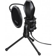 "Hama 139907 ""MIC-USB Stream"" Microphone for PC and Notebook, USB"