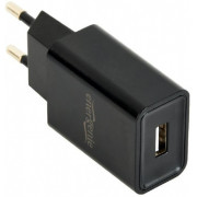 Universal USB charger, Out:1 USB * 5V / 2.1A, In: Schuko CEE 7/4, Black, EG-UC2A-03