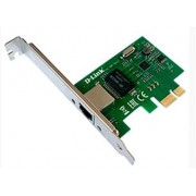 D-Link DGE-560T/C2A PCI-Express Network Adapter with 1 10/100/1000Base-T RJ-45 port, 802.1Q VLAN, 802.3x Flow Control