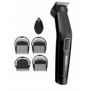 """Trimmer BABYLISS MT725E , uni, rechargeable battery operation time 60 minutes, charging time 16 hours, 6 cutting lengths (1-3,5mm), cutting width 32mm, 5 attachment charging station, cleaning brush, oil, black """