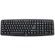 Keyboard Esperanza Titanium TKR101 - Russian Layout / Office keyboard standard, 107 buttons, USB