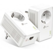 """Powerline Adapter TP-Link, TL-PA7017P KIT, AV1000, 1xGbit Port, Passthrough //  HomePlug AV2 Standard - high-speed data transfer rates of up to 1000 Mbps, supporting all your online needs Gigabit Port - provides secure wired networks for desktops, smar"