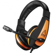 """Gaming Headset Canyon Star Raider, 40mm drivers, 20-20000Hz, 32 Ohm, 100dB, 2x3.5mm, Black/Orange ."