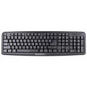 Keyboard Bosston K830 - Russian Layout / black, USB