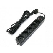 Surge Protector     for UPS,  0,5m, 5 Sockets, Ultra Power, black, UP3-B-0.5UPS