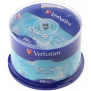 Verbatim DataLife CD-R 700MB 52X EXTRA PROTECTION SURFACE - Spindle 50pcs.
