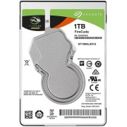 "2.5"" SHDD 1.0TB  Seagate   ST1000LX015 FireCuda™ Compute Hybrid Laptop Thin SSHD, 8GB MLC Flash, 5400rpm, 128Mb, 7mm, SATAIII ( Up to 5x faster than a traditional hdd )"