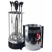 """Vertical barbecue grill REDMOND RBQ-0252 , 900W Power output, skewers 6 pcs, cup 5 pcs, inox """