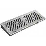 "Titan TTC-G6TZ Notebook Cooling Pad up to 15"", 4 fans -60 x 60 x 10 mm, 2000rpm, <16.7 dBA, 32.4 CFM, Silver"