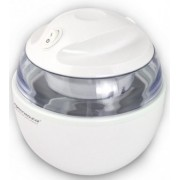 Ice Maker Esperanza VANILLA EKI001, Freezer bucket capacity: 0.6 L, Max volume of ice cream mixture: 0.3 L, Time to freeze a freezer bucket: 12 hours, Ice cream ready time: 15-30 minutes, Net weight: 1.15 kg