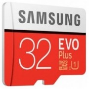 32GB microSD Class10 A1 UHS-I  Samsung EVO Plus, 633x, Up to: 100MB/s