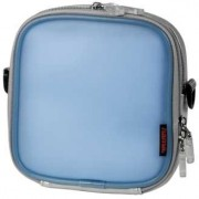 "Hama CD Player Bag ""Jelly"" + 12 CD голубая, 33752"