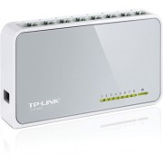 ".8-port 10/100Mbps Desktop Switch  TP-LINK ""TL-SF1008D"", Plastic Case"