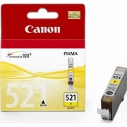 Ink Cartridge Canon CLI-521 Y, yellow 9ml for iP3600/4600/4700/MP540/620/630/980