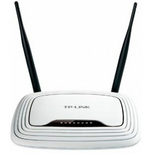 "Wireless Router TP-LINK ""TL-WR841N"", Atheros,300Mbps,4-port Switch,802.11n/g/b,2.4GHz,Fixed Antenas"