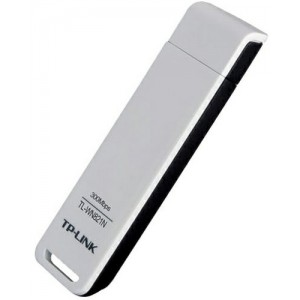 "USB2.0 Wireless LAN Adapter  TP-LINK ""TL-WN821N"", 300Mbps,2T2R, 802.11n/g/b, 2.4GHz"