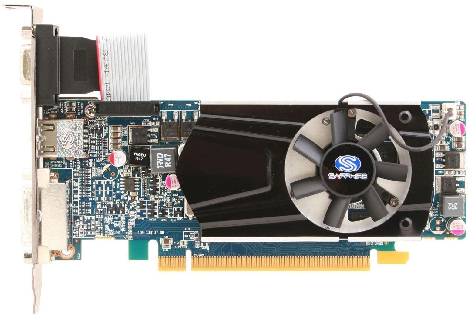Powercolor Radeon Hd 6570 650Mhz Pci-E 2.1 2048Mb 1334Mhz 128 Bit Dvi Hdmi Hdcp