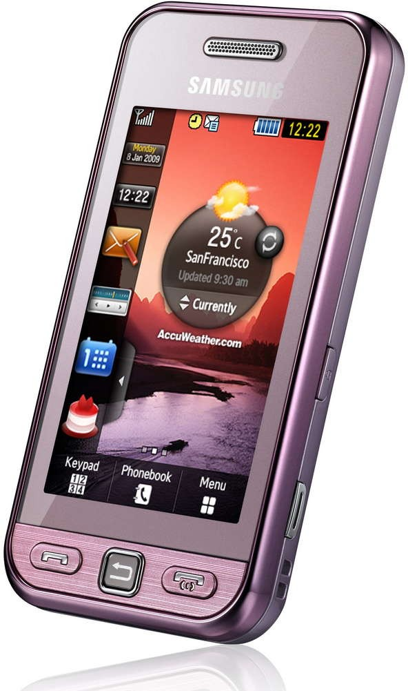 This samsung cell phone has many names, samsung s5230 star, samsung tocco lite, samsung player one, samsung s5233