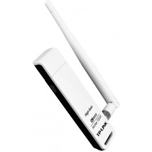 "USB AC600 High Gain Wireless Adapter  TP-LINK ""Archer T2UH"", 600Mbps600 (433+150) Mbps wireless speed with 802.11acHigh gain external antenna, remarkably strengthen signal power of the USB adapterSelectable Dual Band connections for lag-free HD video stre"