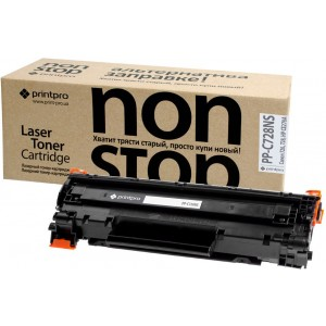 CRG-728 Premium Toner Cartridge PrintPro NS - Canon:728, black, (PP-C728NS) for Canon: LBP 6200,6300 / MF4410,4430,4450,4550,4570,4580,4730,4750,4780,