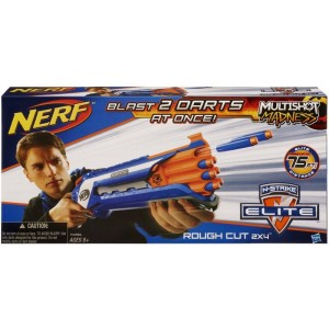 HASBRO NERF NSTRIKE ELITE ROUGH CUT 2X4