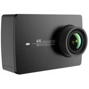 "Xiaomi Yi Lite Action Camera + Case Kit, Black, Video Resolutions: up to 4K /1080p 60fps, 150°, Sensor:16MPx SONY IMX206, Hisilicon Hi3556 Chipset, 2"" Gorilla Glass® LCD Touchscreen, Built-in Mic and AAC, WiFiAC-BT4.1, 1010mAh, up to 130 minutes, 72g"
