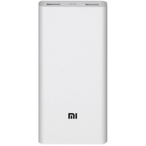 Xiaomi Mi Power Bank 2, 20000 mAh, White