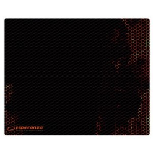 Esperanza Mouse pad  EGP102R FLAME MIDI, Gaming mouse pad, 300x240x3mm, Rubber bottom