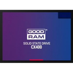 "2.5"" SSD 256GB  GOODRAM CX400, SATAIII, Read: 550 MB/s, Write: 490 MB/s,  3D NAND TLC  SSDPR-CX400-256"