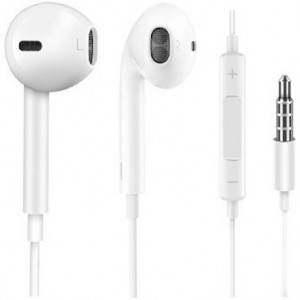 Joyroom earphones EP1, stereo, music control, 3.5mm