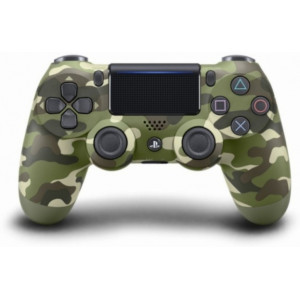 Controller wireless SONY PS DualShock 4 V2 Green Camouflage